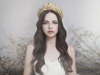 Viktoria Novak(ビクトリア・ノヴァック)のヘッドアクセで、女神風花嫁に♪