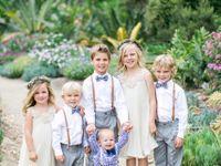 結婚式に子供連れで参加するなら…キッズのおしゃれウェディングコーディネート!