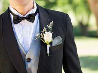結婚式に新郎が着るタキシードのデザイン画像まとめ
