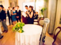 結婚式披露宴のスピーチ&挨拶<祝辞・謝辞>文例や禁句のマナー