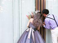 《#とびきりのカラードレス》で見つけた*秋冬婚にぴったりのカラードレス