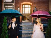 雨の日の結婚式は縁起がいいってホント?雨の日ウェディングの演出+おもてなし実例集*