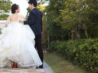 ウェディングドレスは後ろ姿が命?《くるみボタン》で360度おしゃれな花嫁に*