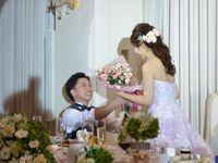 新郎からの再プロポーズ*夏らしい爽やかなケーキに注目の幸せ溢れるウェディングパーティ