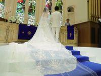 美しく輝く紺碧のウェディングロードと一緒に…上品で素敵な結婚式