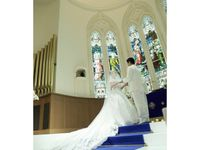 誰もが想い描く王道な結婚式をイメージして…*挙式レポ