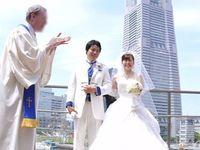 みなとみらいの絶好のロケーションで迎えるウェディング☆in 横浜 挙式編