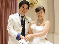 大好きなピンクと野球を取り入れて*横浜で迎える結婚式 披露宴編