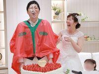 ファーストバイトは二人羽織で大盛り上がり*エンターテイメントな結婚式