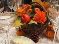 「実りの秋」がテーマ◎あたたかく彩る【会場装飾&演出編】