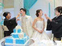 結婚式のテーマは「ティファニーブルー×海」☆泣いて笑って心から幸せな披露宴