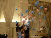 可愛いバルーンが弾けるバルーンスパークが印象的◎ハワイ感満載の結婚式