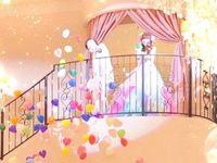 テーマは「レインボー&ファンタジー」♪小さい子から年配の方までみんなが楽しめる披露宴