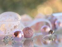 クリスマスウェディングにおすすめ◎簡単かわいい《オーナメント席札》*