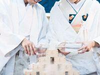 人前式や披露宴演出に*心に響く《水合わせの儀》で「わたしたち夫婦になります」