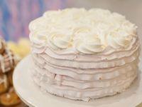 海外花嫁さんに選ばれてる!ウェディングケーキは《ロゼッタケーキ》を部分入れがおすすめ*