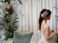 ナチュラルかわいい花嫁に*《おさげスタイル》のブライダルヘア特集
