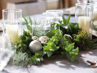 ロマンティック*クリスマスウェディングの《テーブルコーディネート》アレンジ5選♪