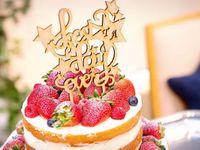 《手作りケーキトッパー》がオシャレかわいい♪デザイン別アレンジ集*