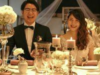 テーブル装花に《キャンドル》を使ってロマンティックなコーディネートに挑戦!