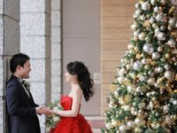 12月の結婚式テーマに*《クリスマスウェディング》のアイデアまとめ