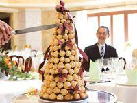 フランスのウェディングケーキ*《クロカンブッシュ》で上品にオシャレウェディング♪