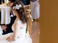 大人花嫁さんにおすすめ!《ハイネック》のウェディングドレスがレトロでかわいい*