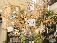 吊るす?置く?先輩花嫁の《ハンキンググラスボール》の飾り方を覗き見っ!