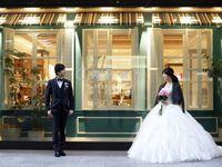 海外の花嫁さんが夢中!《レザーアイテム》で甘辛MIXウェディング*