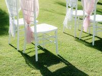 ガーデンウェディングは椅子にもこだわりたい*《チバリチェア》がおしゃれすぎる♪