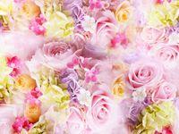 お花畑ドレス《ピンクアリッサ》は、女の子のかわいいがたっぷり詰まっている*
