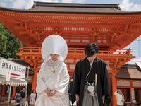 京都「上賀茂神社」で家族和婚&東京で1.5次会!和と洋のいいとこどり華やかウェディングパーティー!