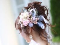 花嫁の愛されヘアはこれで決まり!とびっきりかわいい《高めお団子》のアレンジ力にゾッコンです*