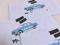 100均でも買える*結婚式で感謝の気持ちが伝わる素敵な《お車代封筒》デザイン