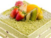 老若男女に人気の≪抹茶のウェディングケーキ≫!和婚のウェディングケーキでマネしたいデザインをご紹介♪