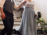ウェディングドレスがカラードレスに大変身!?《オーバースカート》でおしゃれ花嫁になろう♪