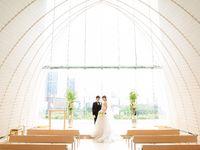 チャペルに一目惚れ!「パレスホテル東京」で叶えた、華やかホテルウェディング
