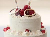 指輪交換の時間もあま~く演出♪《ウェディングケーキ風リングピロー》のデザインが可愛すぎる*