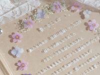 ずーっと飾っておきたい*IGで見つけた【押し花×アクリル板の結婚証明書】デザイン