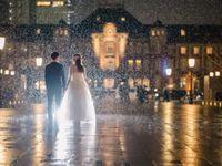 雨だって最高の演出に♪マネしたくなる卒花嫁さんの《雨の日の前撮り写真》を拝見!