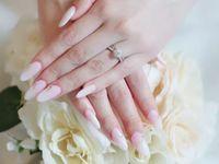 スタイリッシュな花嫁に♪ 話題の【ミラーネイル】がとってもおしゃれ*