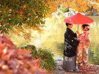 秋におすすめ*和装花嫁さん必見の《紅葉ロケーションフォト》!