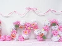【プチプラDIY】ペーパー×造花で華やか!LOVEオブジェを手作り