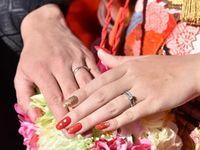 和装にぴったり!手元を華やかに彩る《和の花嫁ネイル》特集