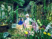 気分は妖精!「ちょうちょ結びの森」をテーマに創り上げた幻想的なウェディング