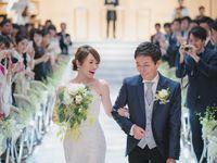 【結婚式拝見】シンプルで美しい!「ノートルダム横浜みなとみらい」でモダンスタイリッシュなウェディング