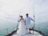 【結婚式拝見】大好きな海をテーマに!「コットンハーバークラブ」で叶えたシーサイドウェディング