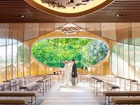 【ホテル椿山荘東京】森に溶け込むような「庭園内神殿」で、新しい本格和婚を
