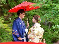 【結婚式拝見】日本庭園を活かした縁日も!「エルムガーデン」で和と洋のコラボウェディング