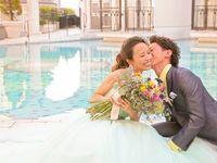 【結婚式拝見】海辺に佇む「横浜アートグレイス・ポートサイドヴィラ」で西海岸風ウェディング